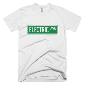 T-shirt Electric AVE-White-level 2 home charging-ChargeHub Store-Ontario-British Columbia-Canada