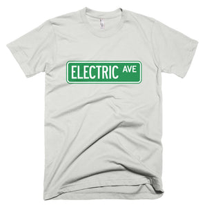 T-shirt Electric AVE-New Silver-level 2 home charging-ChargeHub Store-Ontario-British Columbia-Canada