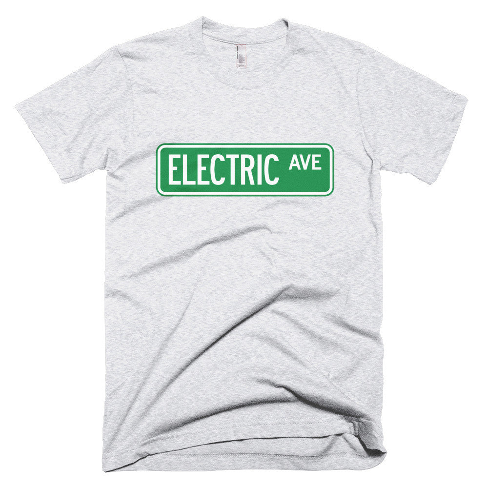 Electric AVE t-shirt-White-level 2 home charging-ChargeHub Store-Ontario-British Columbia-Canada