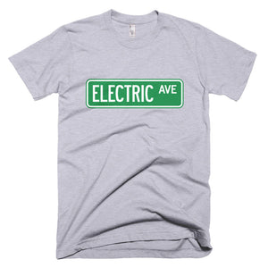 T-shirt Electric AVE-Heather Grey-level 2 home charging-ChargeHub Store-Ontario-British Columbia-Canada