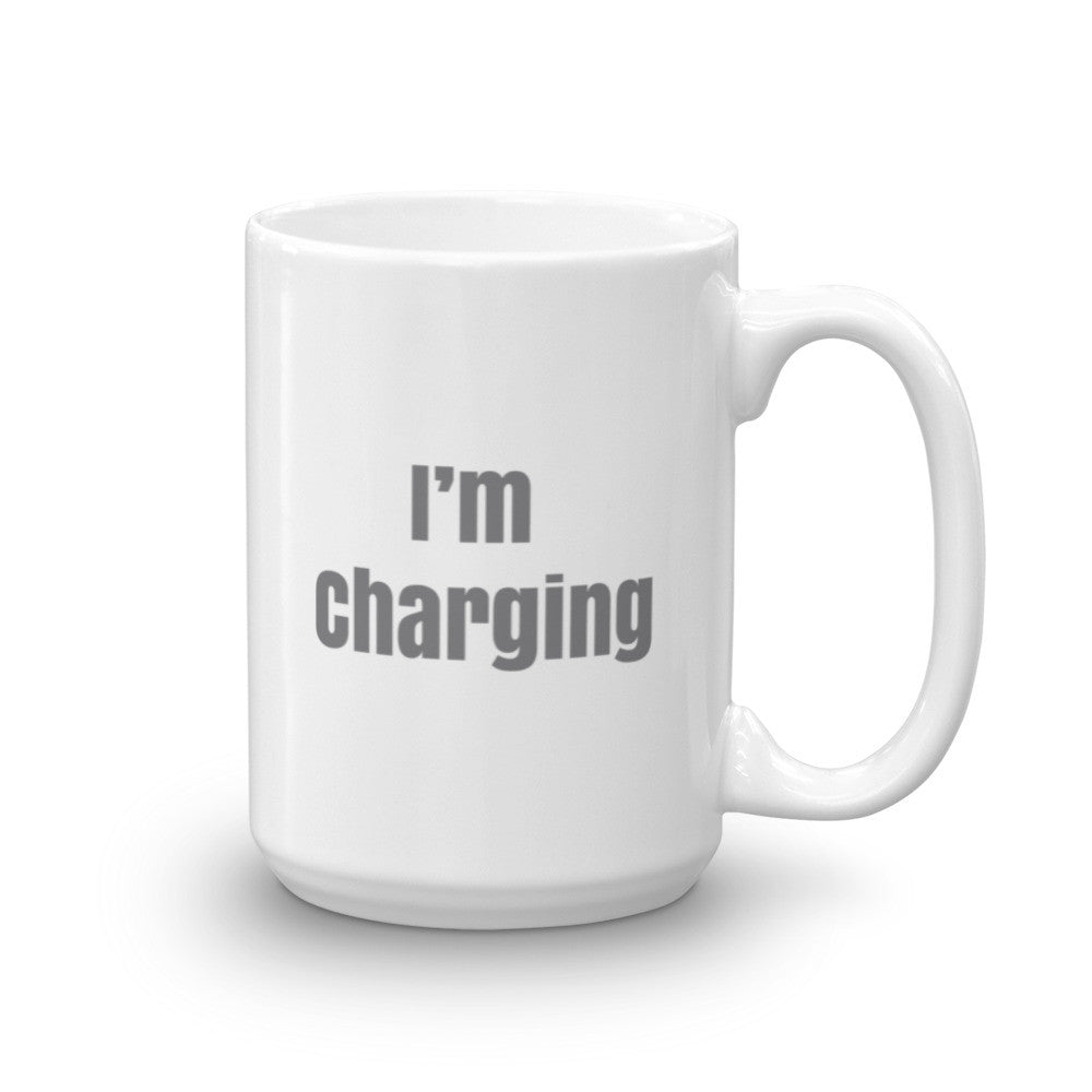 I'm Charging Mug-15oz-level 2 home charging-ChargeHub Store-Ontario-British Columbia-Canada