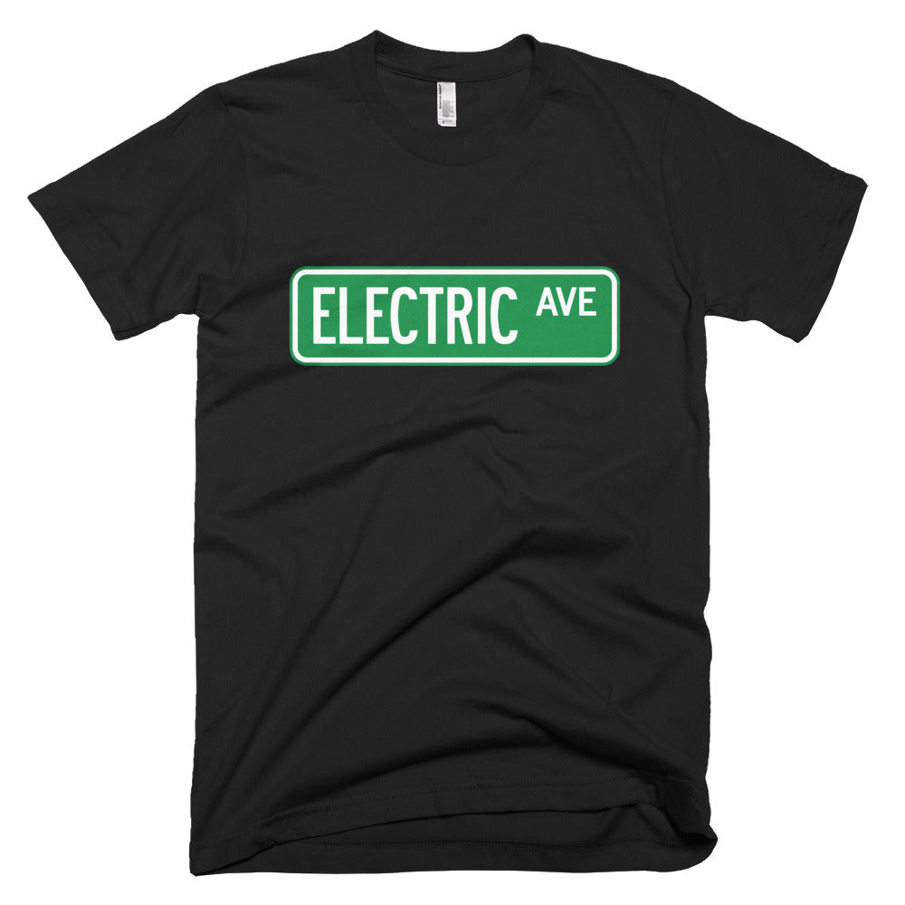 T-shirt Electric AVE-Black-level 2 home charging-ChargeHub Store-Ontario-British Columbia-Canada