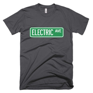 Electric AVE t-shirt-Asphalt-level 2 home charging-ChargeHub Store-Ontario-British Columbia-Canada