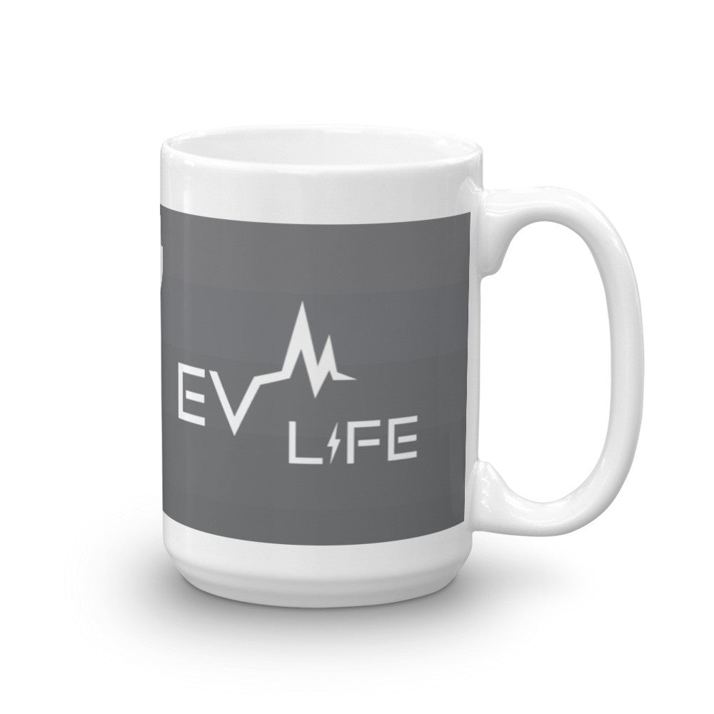 EV Life Mug-15oz-level 2 home charging-ChargeHub Store-Ontario-British Columbia-Canada
