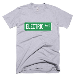 Electric AVE t-shirt-Heather Grey-level 2 home charging-ChargeHub Store-Ontario-British Columbia-Canada
