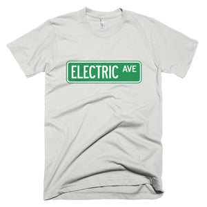Electric AVE t-shirt-New Silver-level 2 home charging-ChargeHub Store-Ontario-British Columbia-Canada