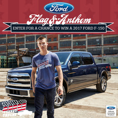 Enter For a Chance to Win a Ford F-150