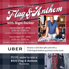 Meet Nigel Barker at Dillard's!