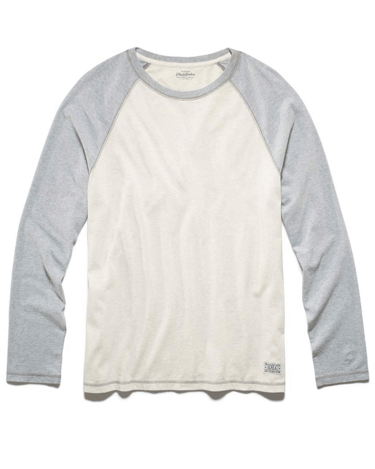CLINTON SUEDED RAGLAN