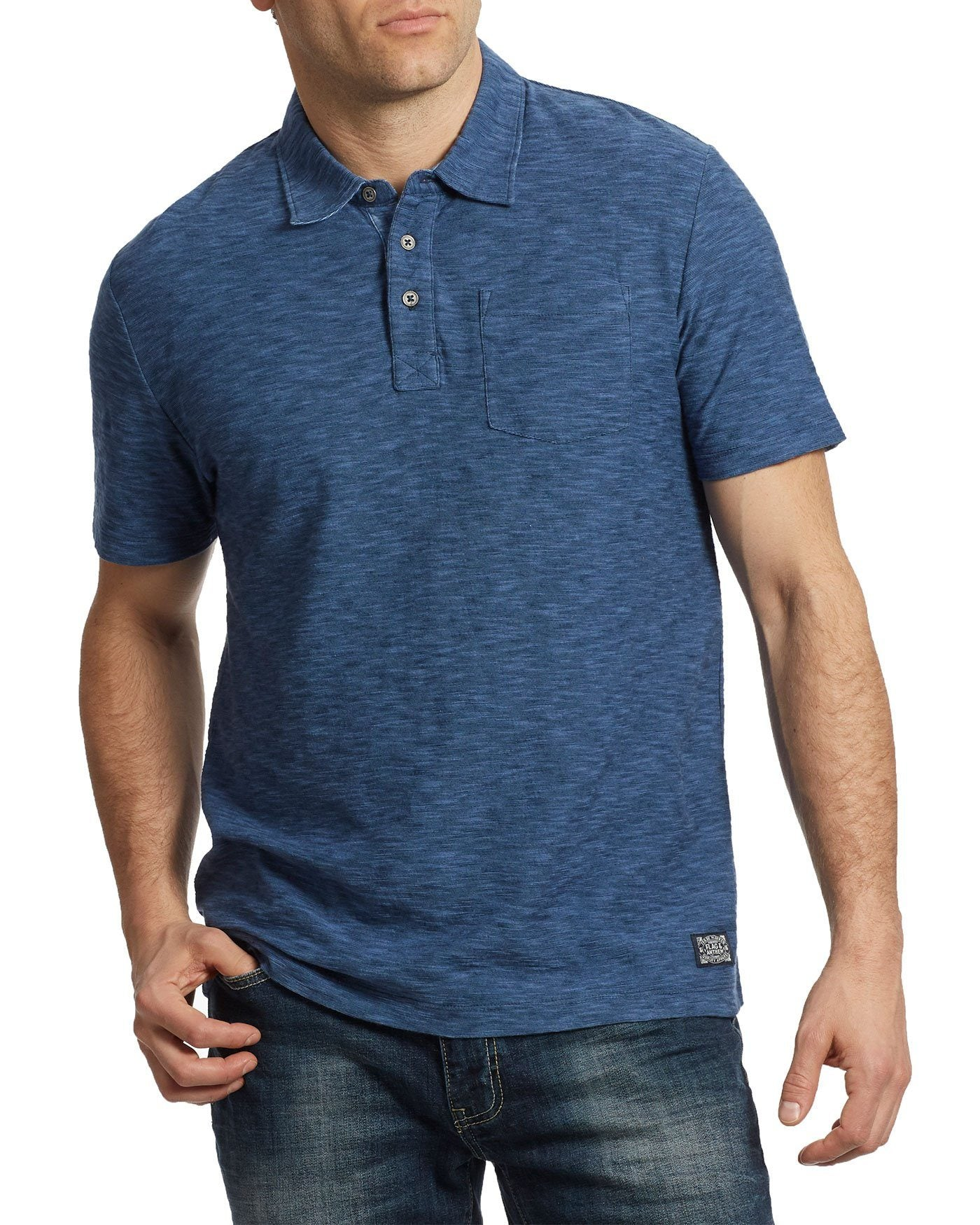 GREENSBURG POLO - NAVY BLUE
