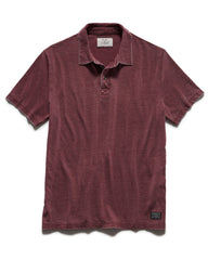 COUPEVILLE BURNOUT POLO - MAROON