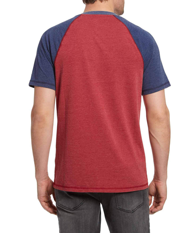 LANEBURG BURNOUT RAGLAN HENLEY (FINAL SALE)