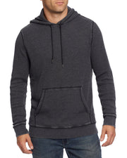 ALFRED BURNOUT THERMAL PULLOVER HOODIE