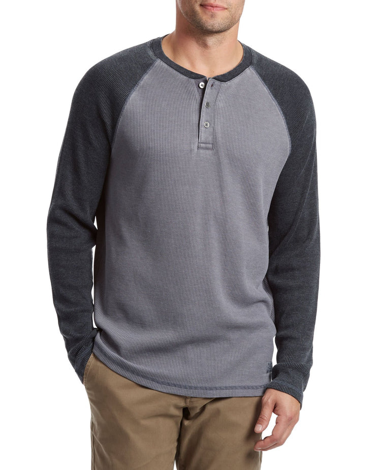 ADAMSTOWN BURNOUT RAGLAN HENLEY (FINAL SALE)