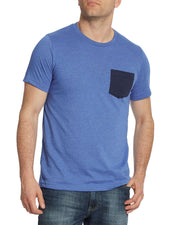 ROBINS CREW NECK POCKET TEE