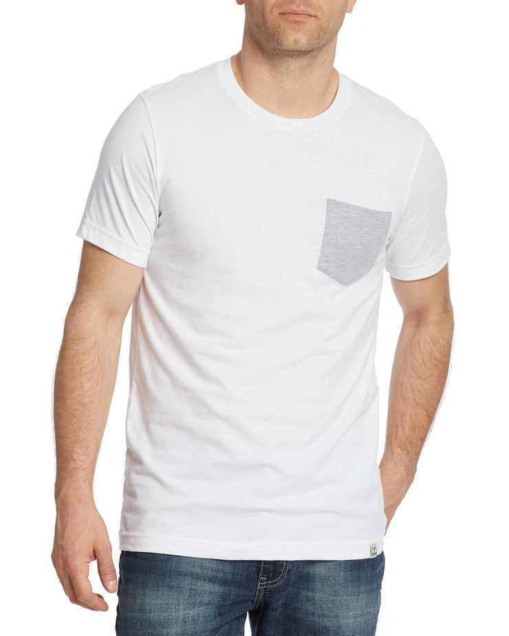 ROBINS CREW NECK POCKET TEE (FINAL SALE)
