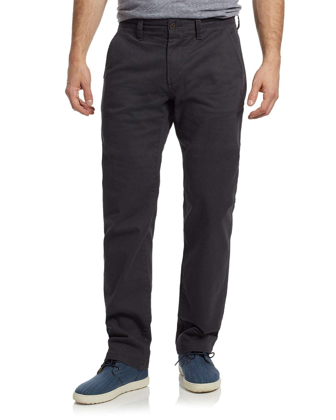 CASTLETON CHINO - PORTLAND RELAXED - CHARCOAL