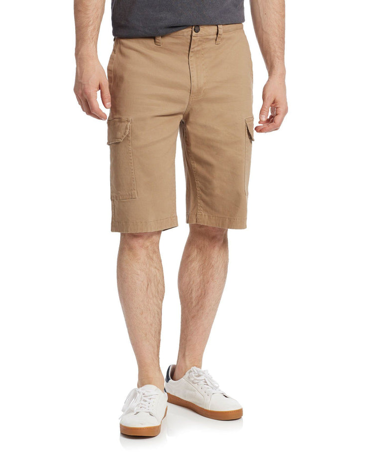 MOVILLE GARMENT DYED CARGO SHORT (FINAL SALE)