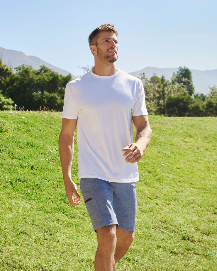 "MADEFLEX ANY-WEAR HYBRID SHORT - 10"" INSEAM"