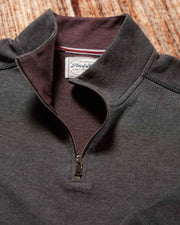 WILLARDS ZIP MOCKNECK (FINAL SALE)