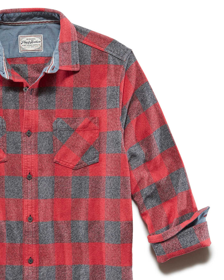 HARRELLS FLANNEL SHIRT