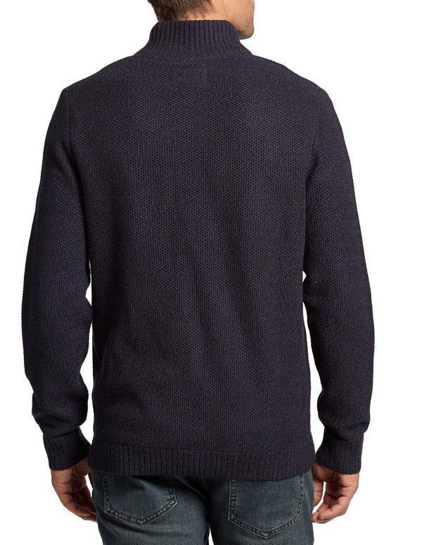 WILLISVILLE BUTTON MOCKNECK SWEATER