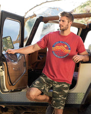 BRETTON STRETCH CAMO SHORT