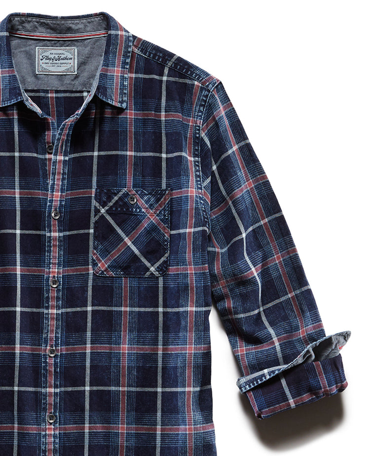 LIVONIA VINTAGE WASHED SHIRT
