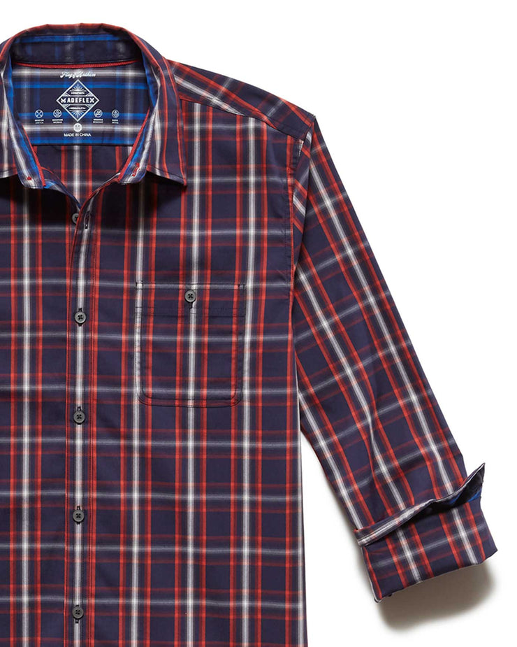 MADEFLEX PLAID ICON SHIRT
