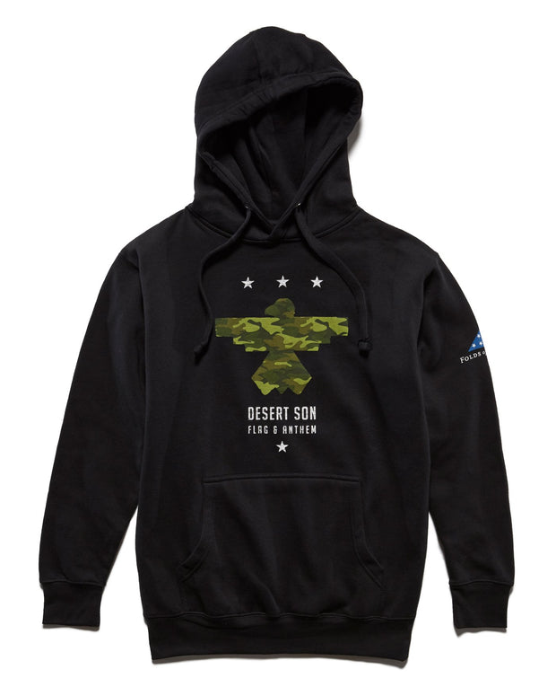 FOLDS OF HONOR CAMO RISER HOODIE