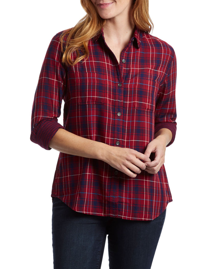 MICA WOMEN'S DOUBLE LAYER SHIRT