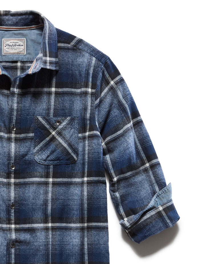 PENWELL FLANNEL SHIRT
