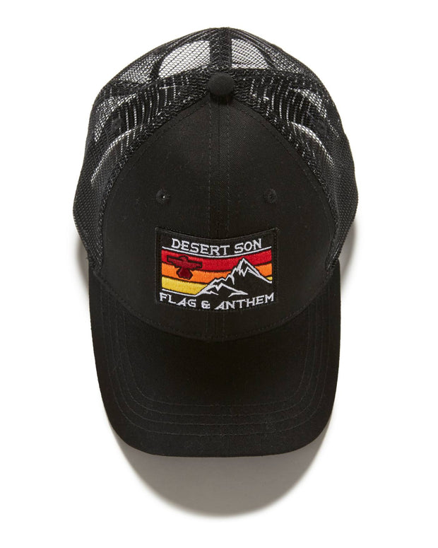 SIERRA STRIPE TRUCKER HAT