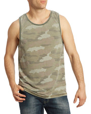 SAMBURG CAMO BURNOUT TANK