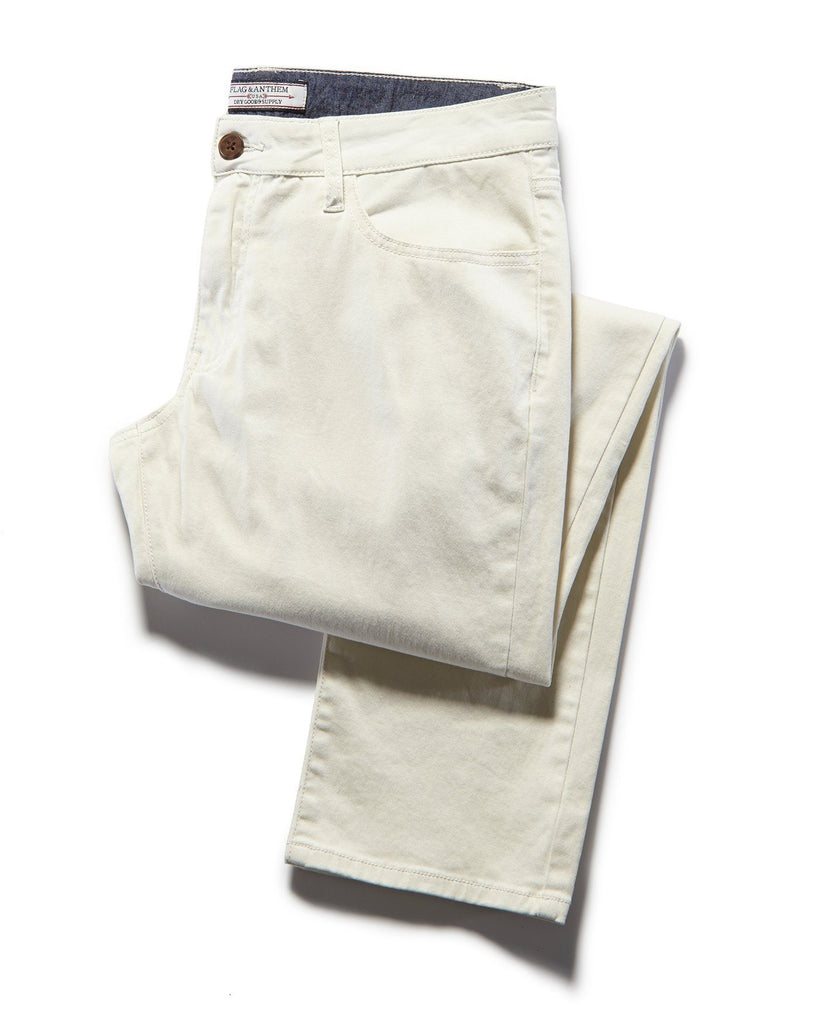 WALLBURG  5-POCKET PANT - NASHVILLE STRAIGHT - SILVER BIRCH