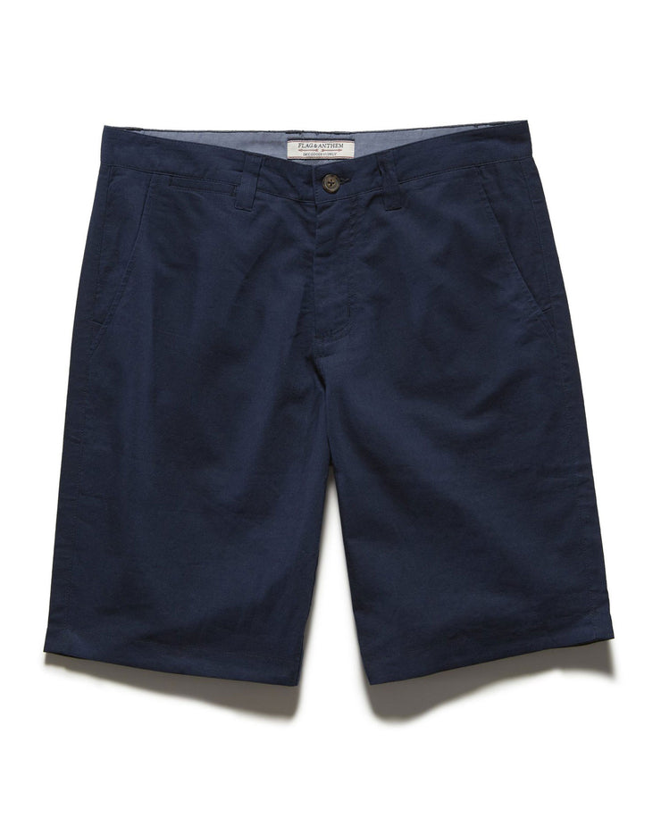 TABOR LINEN-BLEND SHORT (FINAL SALE)