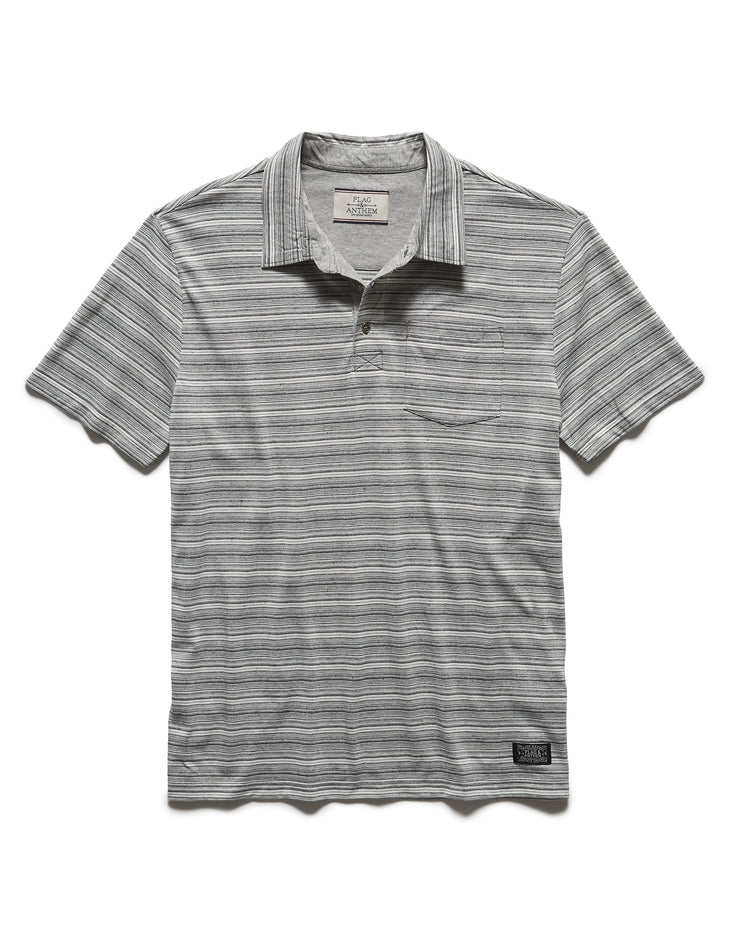PATTONVILLE STRIPED POLO (FINAL SALE)
