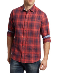GRIFFITH SHIRT - RED NAVY