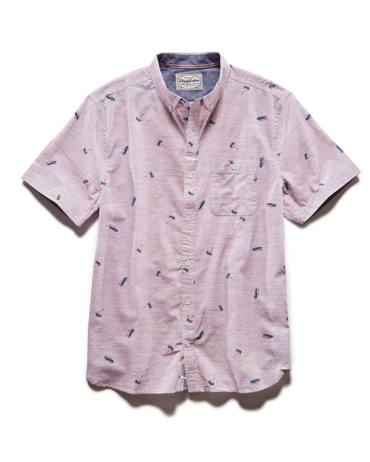 FAYVILLE PALM SHIRT