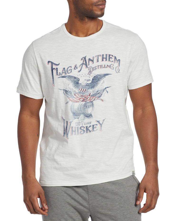 WHISKEY EAGLE SLUB TEE