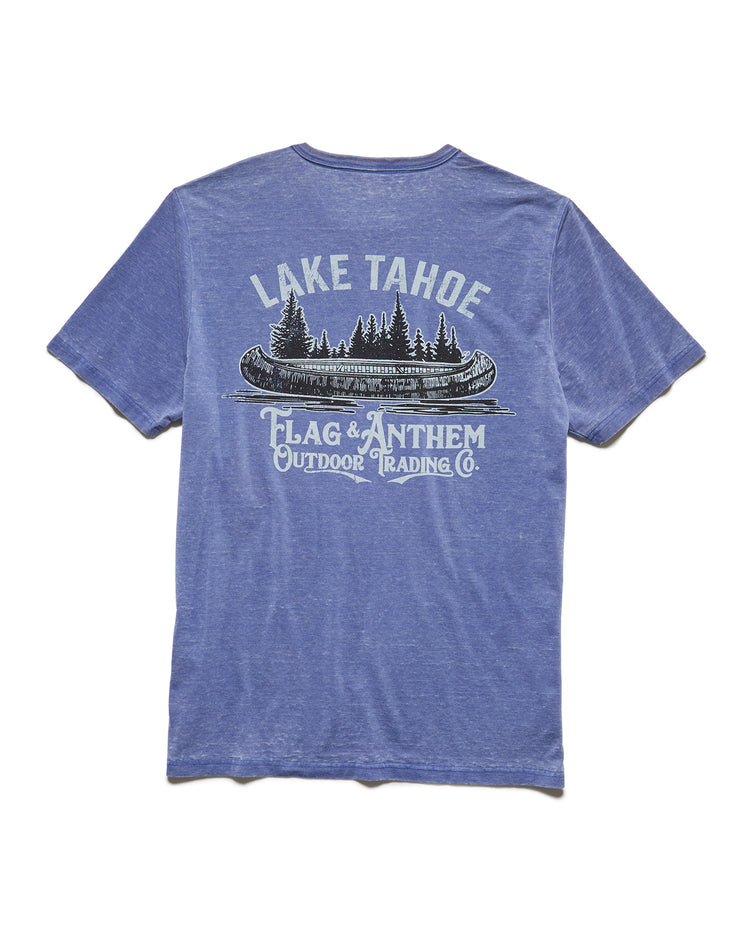 LAKE TAHOE BURNOUT TEE