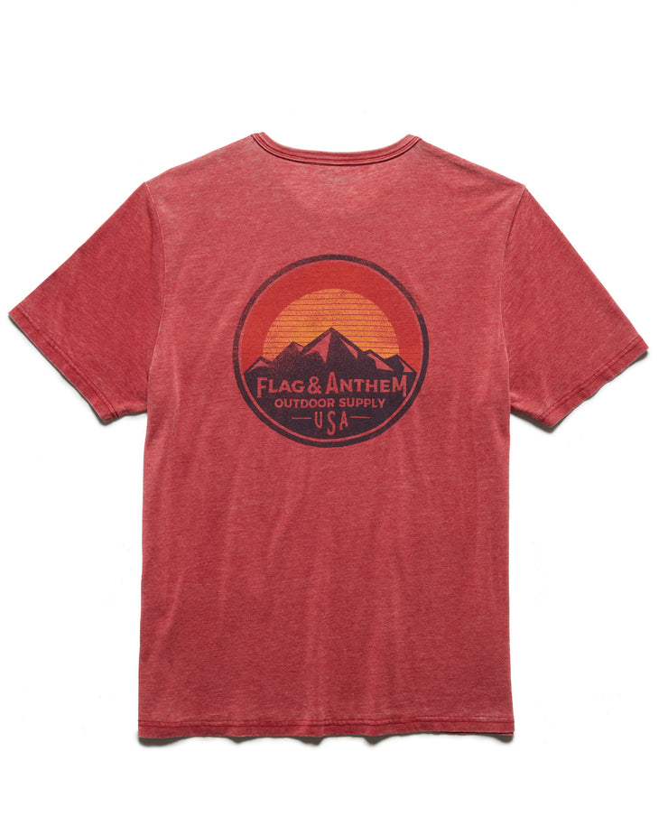 OUTDOOR SUPPLY BURNOUT TEE