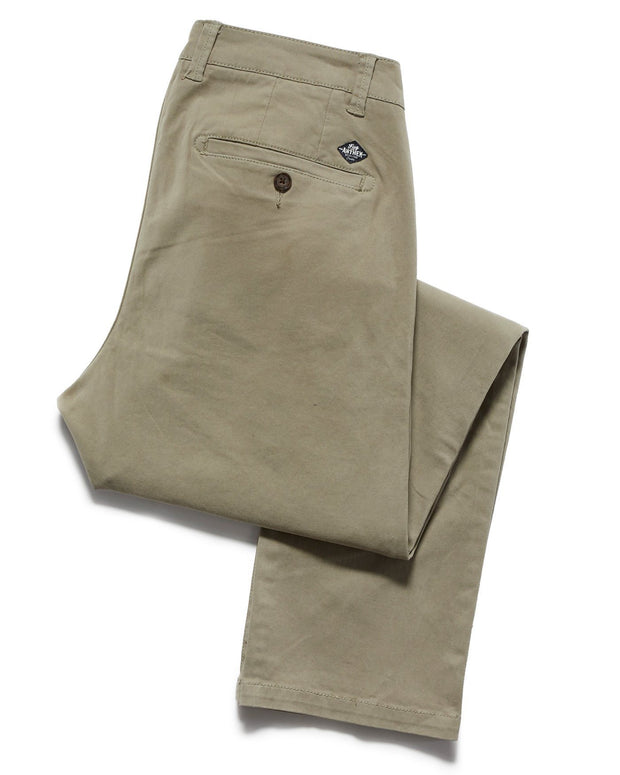 Chinos - CASTLETON CHINO - OAKLAND SLIM - LIGHT ARMY