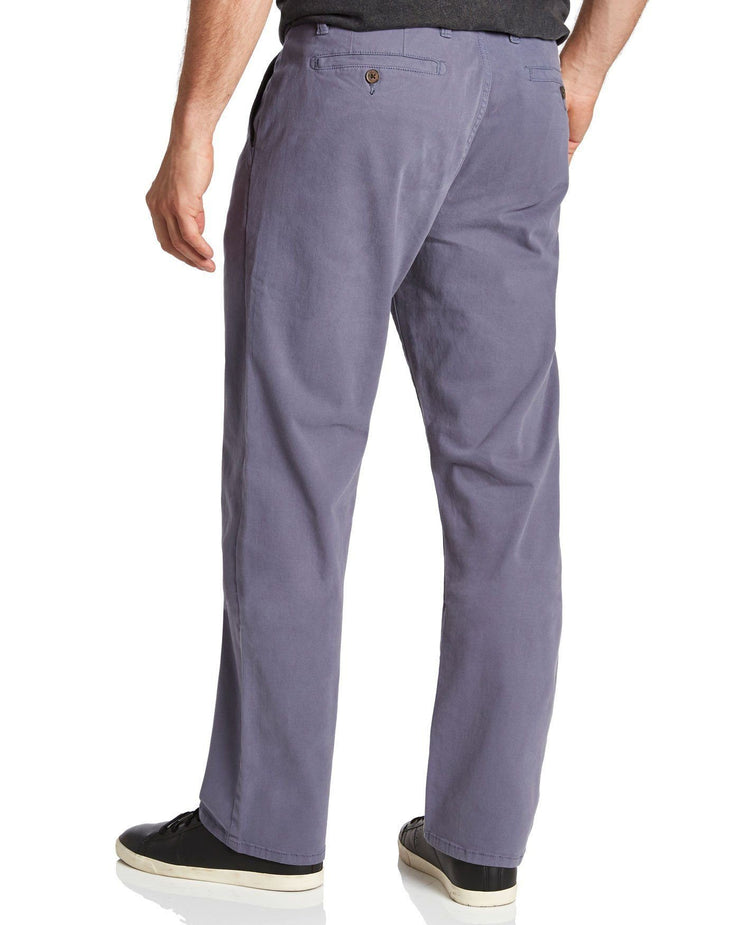 Chinos - CASTLETON CHINO - PORTLAND RELAXED - GREY
