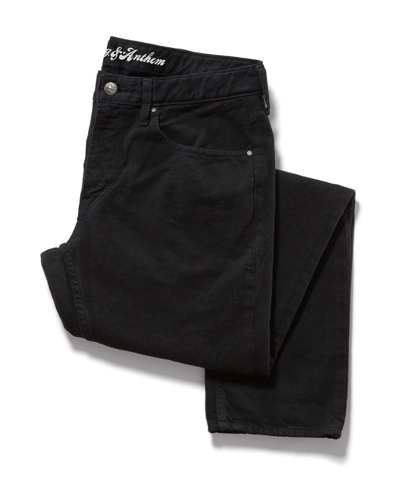 Denim - OVERDYE JEAN - OAKLAND SLIM - BLACK