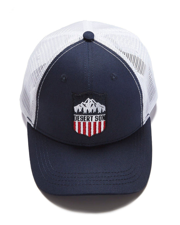 MOUNTAIN SHIELD TRUCKER HAT (FINAL SALE)