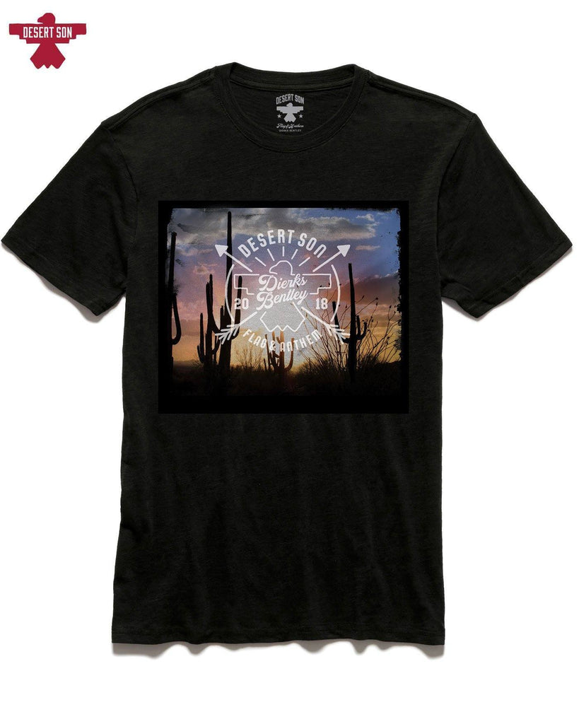 Desert Son Tees - ARROWHEAD VISTA TEE - BLACK