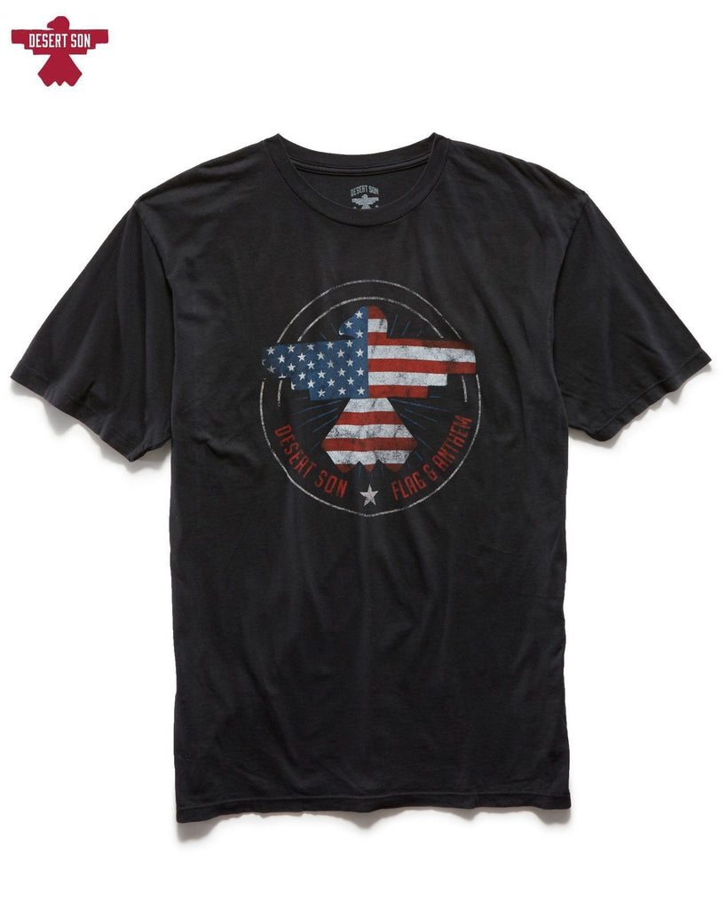 Desert Son Tees - Freedom Riser Washed Tee - Vintage Black