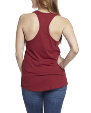Desert Son Women's Tanks - FREEDOM RISER WOMEN'S RACERBACK TANK - SCARLET (FINAL SALE)