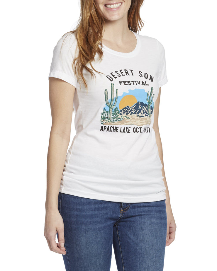 Desert Son Women's Tees - APACHE LAKE FESTIVAL WOMEN'S TEE